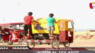 Niños al volante: trabajo infantil en el norte del país