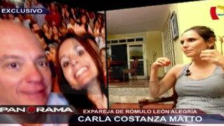 Carla Constanza Matto: habla la expareja de Rómulo León Alegría