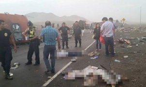 Identifican a fallecidos del accidente en Huarmey