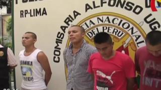 Cercado de Lima: Policía capturó a soldados del Ejército acusados de robo