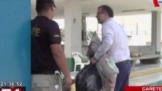 Cañete: Mateo Silva-Martinot recibió visita de sus padres en prisión