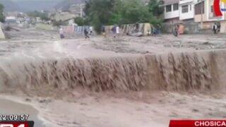 Huayco provoca inundación y la muerte de cinco personas en Chosica
