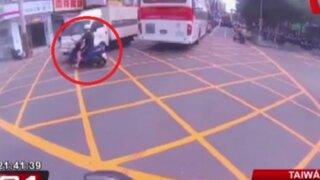 Cámaras de seguridad captaron impactantes accidentes en el mundo