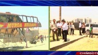 Accidente en Huarmey: dos cadáveres aún no han sido identificados