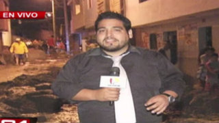 24 Horas reporta situación de los damnificados de Chosica
