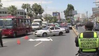 Militar murió tras ser atropellado en la avenida La marina
