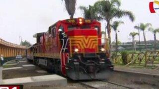 Ferrocarril Central trasladará gratis a pasajeros hasta el centro del país desde este jueves