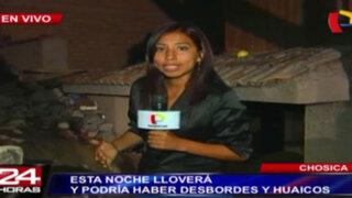 Decenas de damnificados por huaicos en Santa Eulalia y anuncian más lluvias en Chosica