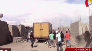 Chimbote: operativo contra bar clandestino termina en tiroteo
