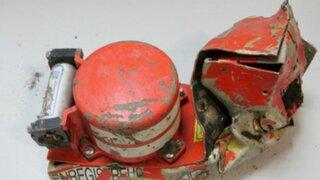 Recuperan audio de caja negra de avión caído en los Alpes de Francia