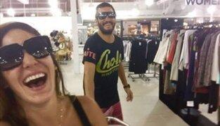 Tilsa Lozano se luce junto a Miguel Hidalgo en Miami