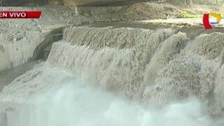Temen posible desborde del río Rímac tras incremento del caudal