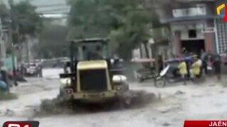 Torrenciales lluvias y caída de huaicos afectan el interior del país