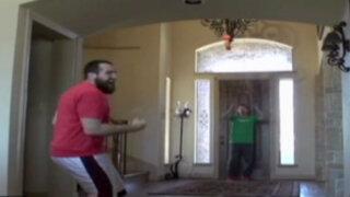 EEUU: mira cómo estos jóvenes realizan increíbles trucos de espaldas