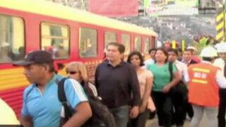 Ferrocarril Central apoyó gratuitamente a pobladores en Chosica