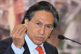Alejandro Toledo dice que denuncia fiscal intenta obstaculizar su candidatura presidencial