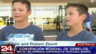 Convención reunió a cientos de gemelos de todo el mundo en Australia