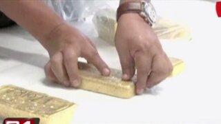 Incautan 100 kilos de oro ilegal a primo de Peter Ferrari