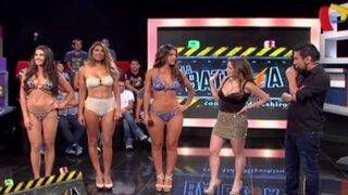 Desfile de infarto: Vanessa Tello presenta sexy colección de bikinis