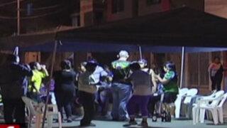 Comas: prohíben fiestas callejeras que toman pistas y veredas