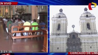 Municipio de Lima inspecciona seguridad de iglesias por Semana Santa
