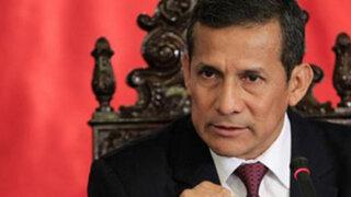 La Oroya: Gobierno no permitirá que se atente contra el libre tránsito, afirma Humala