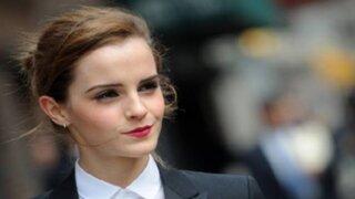 Emma Watson fue elegida la mujer más excepcional del 2015