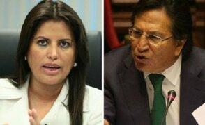 Carmen Omonte y Alejandro Toledo critican a nacionalistas