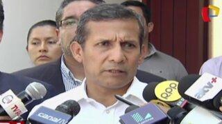 Presidente Humala advierte presencia de Sendero Luminoso en el sur del país
