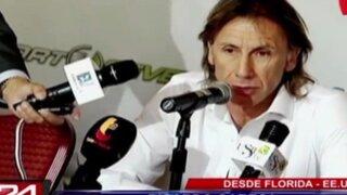 Ricardo Gareca dio conferencia desde Miami previo al duelo ante Venezuela