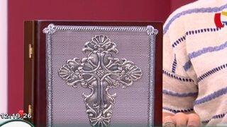 Aprende a hacer una caja porta biblia con la técnica de repujado