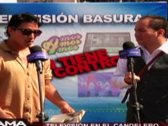 Televisión en el candelero: ¿Quién tiene el control?