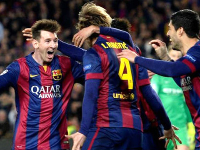 Bloque Deportivo: Barcelona venció 1-0 a Manchester City y está en cuartos de la Champions
