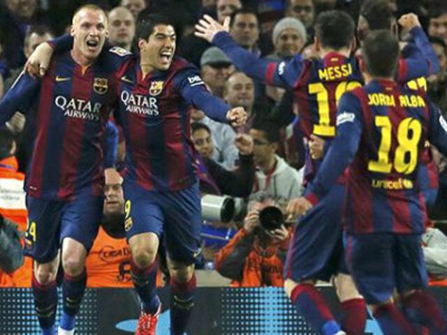 Barcelona venció 2-1 al Real Madrid y es líder indiscutible en Liga BBVA