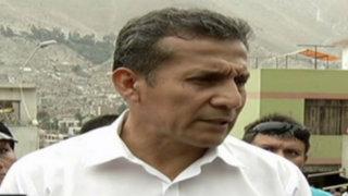 Presidente Humala agrede a periodista de Panamericana Televisión
