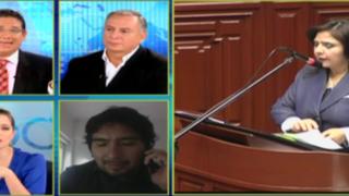 """Hugo Guerra: """"Habrá conflicto entre Congreso y Ejecutivo si eligen a Cateriano como premier"""""""