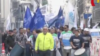 Paro en Argentina: sindicatos de trabajadores contra el gobierno de Cristina Fernández