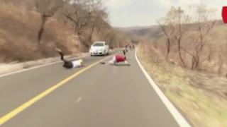 Cámaras registran impactantes accidentes de tránsito en el mundo