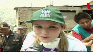 Panamericana continúa llevando ayuda a damnificados por huaicos de Chosica