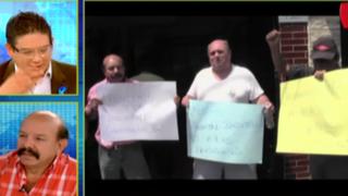 Humala maltrata a periodista de Panamericana TV: personas con sobrepeso exigen disculpas