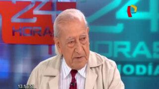 """Isaac Humala: """"El Gobierno no está debilitado ya que tiene el apoyo del Ejército"""""""