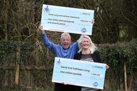 Pareja británica ganó la lotería por segunda vez en dos años