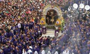 Semana Santa: se dispuso desvíos por recorrido del Señor de los Milagros