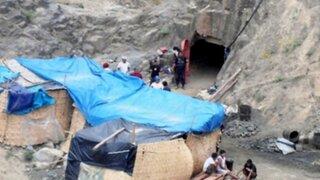 La Libertad: obreros fallecieron tras derrumbe en mina artesanal