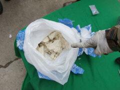 Policía captura a sujetos que trasladaban droga en el Cusco