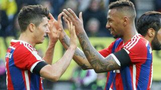 Bayern Munich venció 1-0 al Borussia Dortmund y se va por título de la Bundesliga