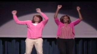 Michelle Obama volvió a bailar contra la obesidad infantil