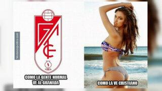FOTOS: así hablaron los memes tras el 9-1 de Real Madrid al Granada