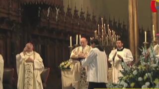 Misa de resurrección: Cardenal Cipriani pide paz y bienestar para el Perú