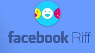 Tendencias en línea: Riff, la app de Facebook para crear videos entre amigos